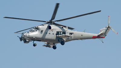 Z3137 - Mil Mi-35E Hind - India - Air Force