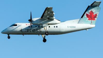 A picture of CGONX - De Havilland Canada Dash 8100 - Voyageur Airways - © Martin Grotter