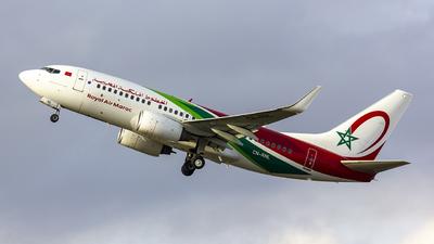 A picture of CNRNL - Boeing 7377B6 - Royal Air Maroc - © Matthias Caroff