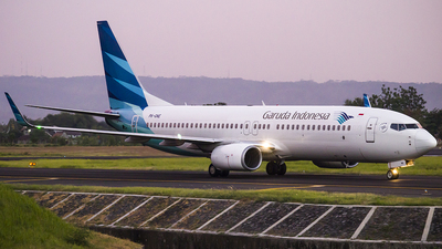 PK-GNE - Boeing 737-8U3 - Garuda Indonesia
