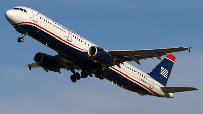 N519UW - Airbus A321-231 - US Airways