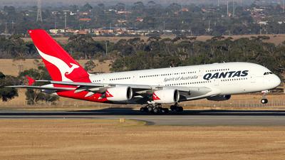 VH-OQE - Airbus A380-842 - Qantas
