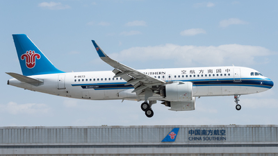 A picture of B8673 - Airbus A320271N - China Southern Airlines - © xuhaoqing995