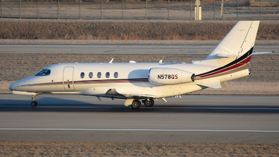 A picture of N578QS - Cessna 680A Citation Latitude - NetJets - © DJ Reed - OPShots Photo Team