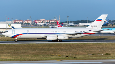 RA-96102 - Ilyushin Il-96-400VVIP - Russia - Air Force