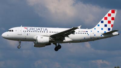 9A-CTN - Airbus A319-112 - Croatia Airlines