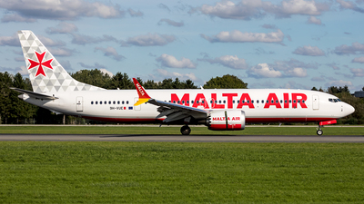 A picture of 9HVUE - Boeing 737 MAX 8200 - Malta Air - © Dirk Grothe