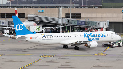 A picture of ECLLR - Embraer E195LR - Air Europa - © Alexander Jeglitsch