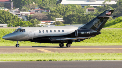 N67WE - British Aerospace BAe 125-1000A - Private