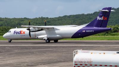 N804FX - ATR 72-212(F) - FedEx Feeder (Mountain Air Cargo)