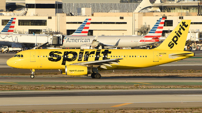 A picture of N602NK - Airbus A320232 - Spirit Airlines - © Rocky Wang