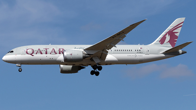 A7-BCJ - Boeing 787-8 Dreamliner - Qatar Airways