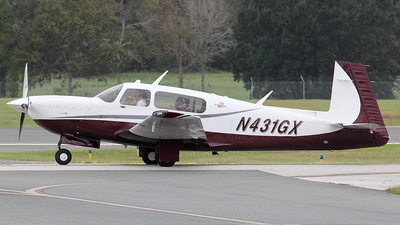 N431GX - Mooney M20R Ovation - Private