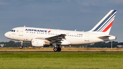 F-GUGB - Airbus A318-111 - Air France