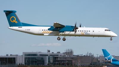 A picture of CGHQP - De Havilland Canada Dash 8400 - Hydro Quebec - © PAUL LINK