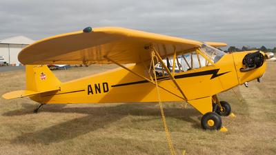 ZK-AND - Piper J-3L-65 Cub - Private