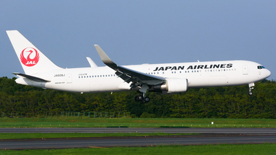 JA608J - Boeing 767-346(ER) - Japan Airlines (JAL)