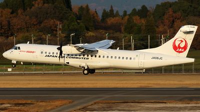 A picture of JA06JC - ATR 72600 - Japan Air Commuter - © *DaVe*
