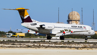 EP-LCR - Fokker 100 - Kish Air