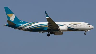 A4O-ME - Boeing 737-8 MAX - Oman Air