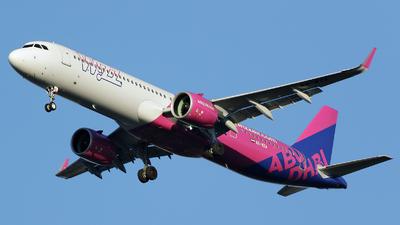 A6-WZA - Airbus A321-271NX - Wizz Air Abu Dhabi
