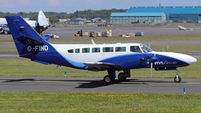 G-FIND - Reims-Cessna F406 Caravan II - Reconnaissance Ventures