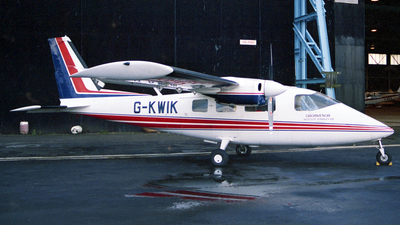 G-KWIK - Partenavia P.68B Victor - Grosvenor Aviation Services