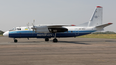 UR-BXC - Antonov An-24RV - Motor Sich Airline