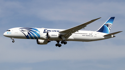 A picture of SUGEV - Boeing 7879 Dreamliner - EgyptAir - © Peter Cook