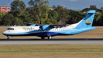 A picture of XYAJP - ATR 72600 - Mann Yadanarpon Airlines - © Ratchapon Pipitsombat