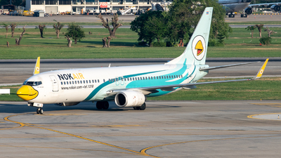 HS-DBO - Boeing 737-8AS - Nok Air