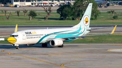 A picture of HSDBO - Boeing 7378AS - Nok Air - © Taweesak