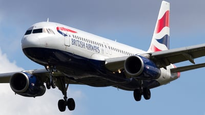 G-EUYX - Airbus A320-232 - British Airways