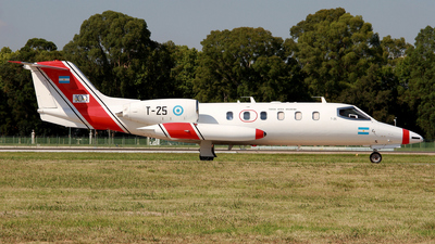 T-25 - Bombardier Learjet 35A - Argentina - Air Force