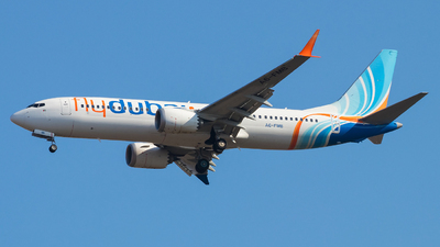 A picture of A6FMB - Boeing 737 MAX 8 - FlyDubai - © Oleksandr Smerychansky