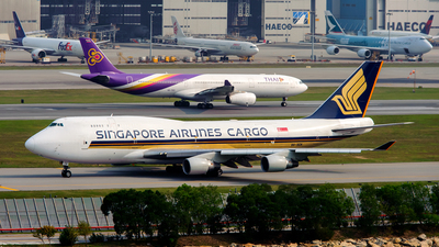 9V-SCA - Boeing 747-412(BCF) - Singapore Airlines Cargo