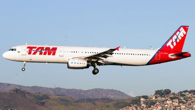 PT-MXH - Airbus A321-231 - TAM Linhas Aéreas