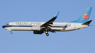 B-5760 - Boeing 737-81B - China Southern Airlines