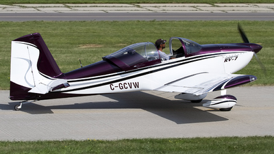 C-GCVW - Vans RV-7 - Private