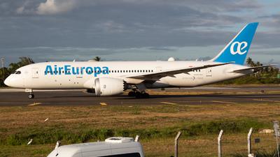 A picture of ECMMX - Boeing 7878 Dreamliner - Air Europa - © Henrique Pessoa