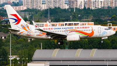 A picture of B5817 - Boeing 73779P - China Eastern Airlines - © Miaomiao