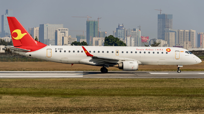 B-3123 - Embraer 190-100LR - Tianjin Airlines