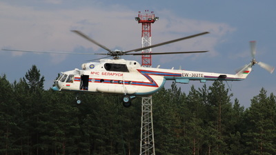 EW-302TE - Mil Mi-8MTV-1 Hip - Belarus - Ministry for Emergency Situations (MChS)