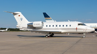 D-AUKE - Bombardier CL-600-2B16 Challenger 604 - Jetcall