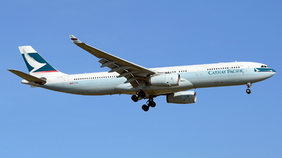 B-LAG - Airbus A330-343 - Cathay Pacific Airways