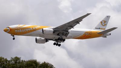 9V-SRP - Boeing 777-212(ER) - NokScoot