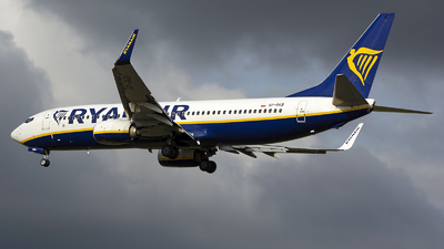 A picture of SPRKB - Boeing 7378AS - Ryanair - © András Soós