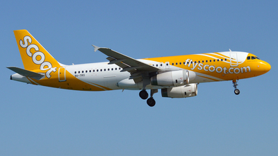9V-TRO - Airbus A320-232 - Scoot