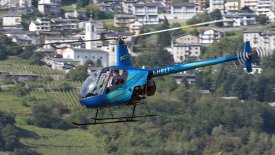 I-HELI - Robinson R22 Beta - Private