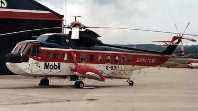 G-BDII - Sikorsky S-61N - Bristow Helicopters